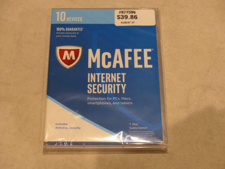 McAfee Internet Security 2019 (6 Aylık Lisans) Anahtarı Al