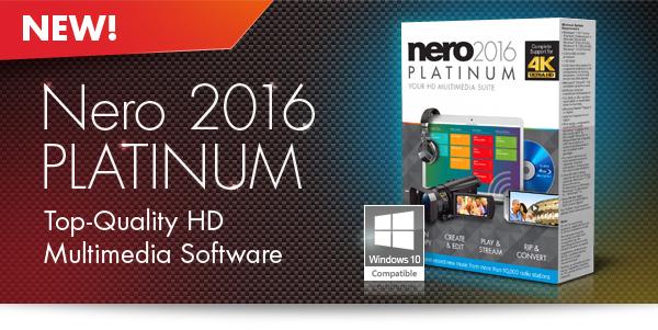 Nero 2016 Platinum Full İndir – Türkçe v17.0.04500